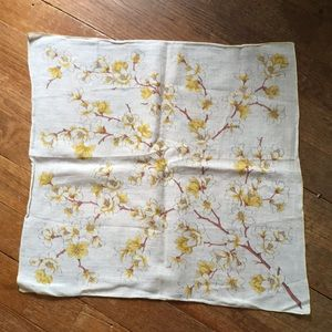 Vintage Dog Wood Hanky